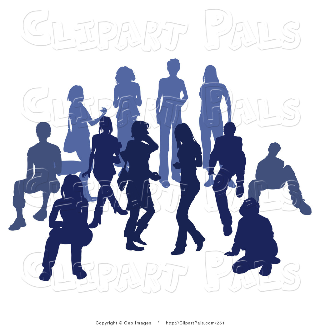 Sports Crowd Clipart
