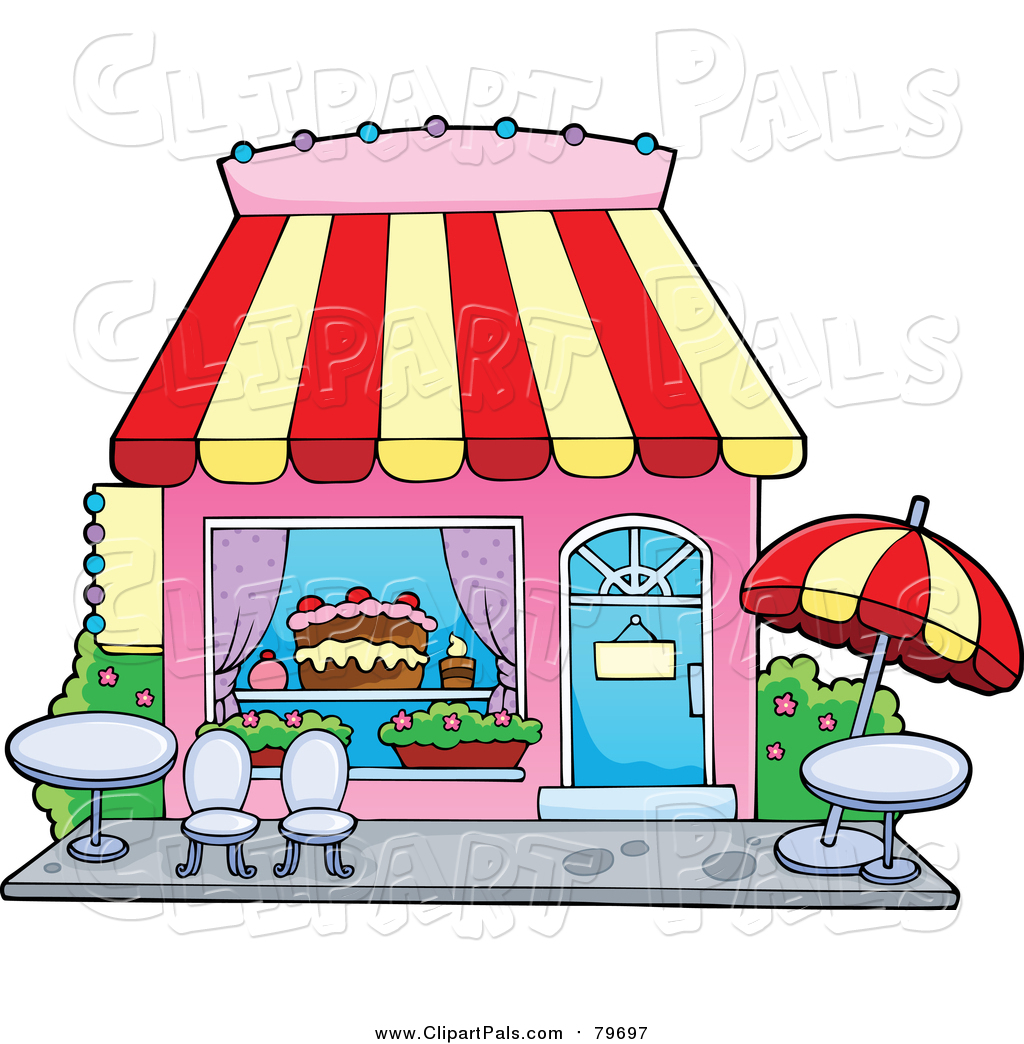 Cake Store Clipart : Royalty Free Bakery Stock Friend Designs