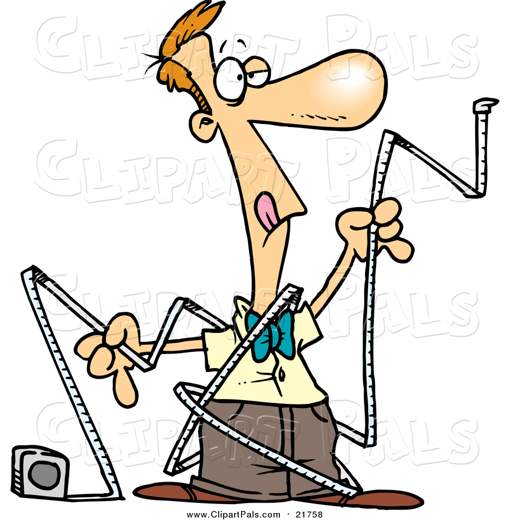 Larger Preview: Pal Clipart of a Cartoon Caucasian Man Trying to Use ...