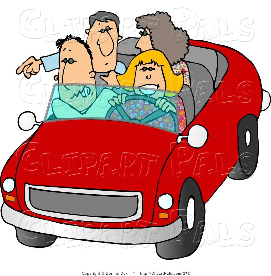 clipart car driving on road - photo #23