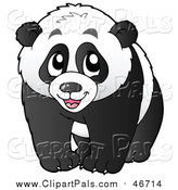 October 2nd, 2015: Pal Clipart of a Happy Panda by Visekart