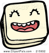 Pal Clipart of a Piece of Licorice Candy by Lineartestpilot