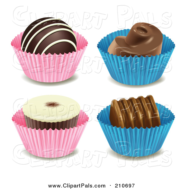 Pal Clipart of Chocolate Candies