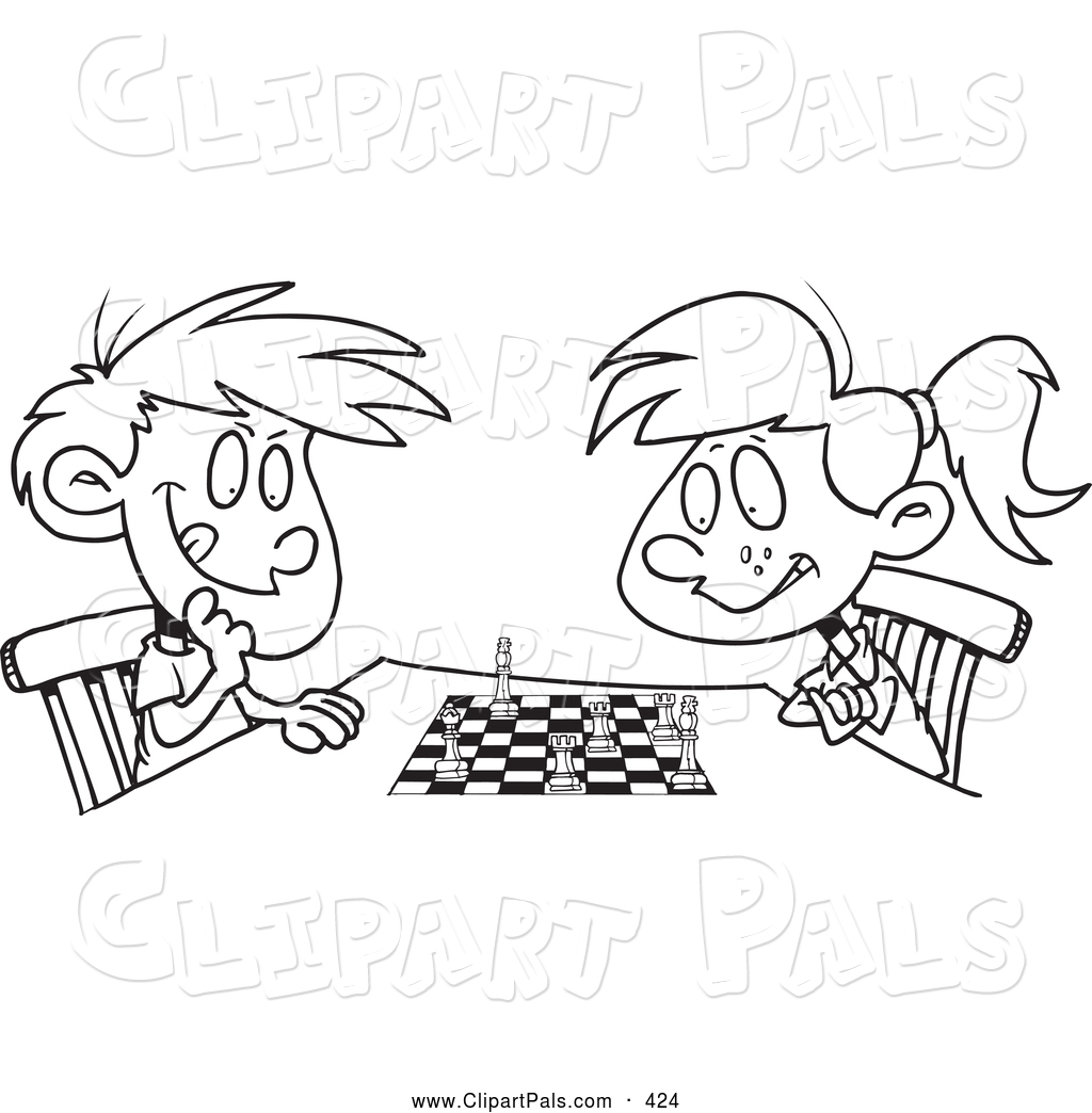 Chess Pieces Coloring Page - Chess Piece Chess Coloring Pages, HD ... | 1044x1024