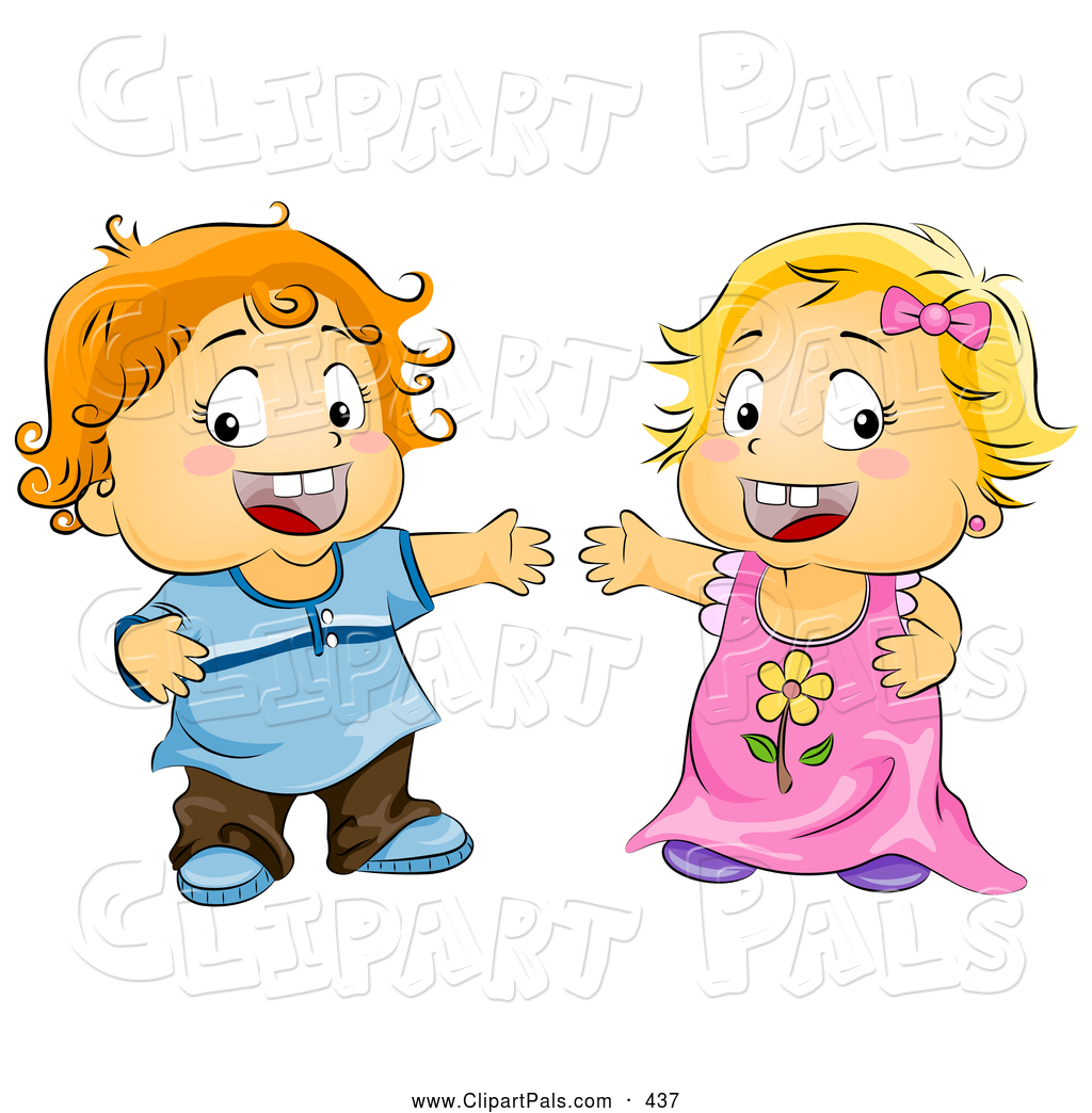 pal clipart of a cute toddler boy and girl with open arms by bnp rh clipartpals com toddler clipart png toddler clip art images