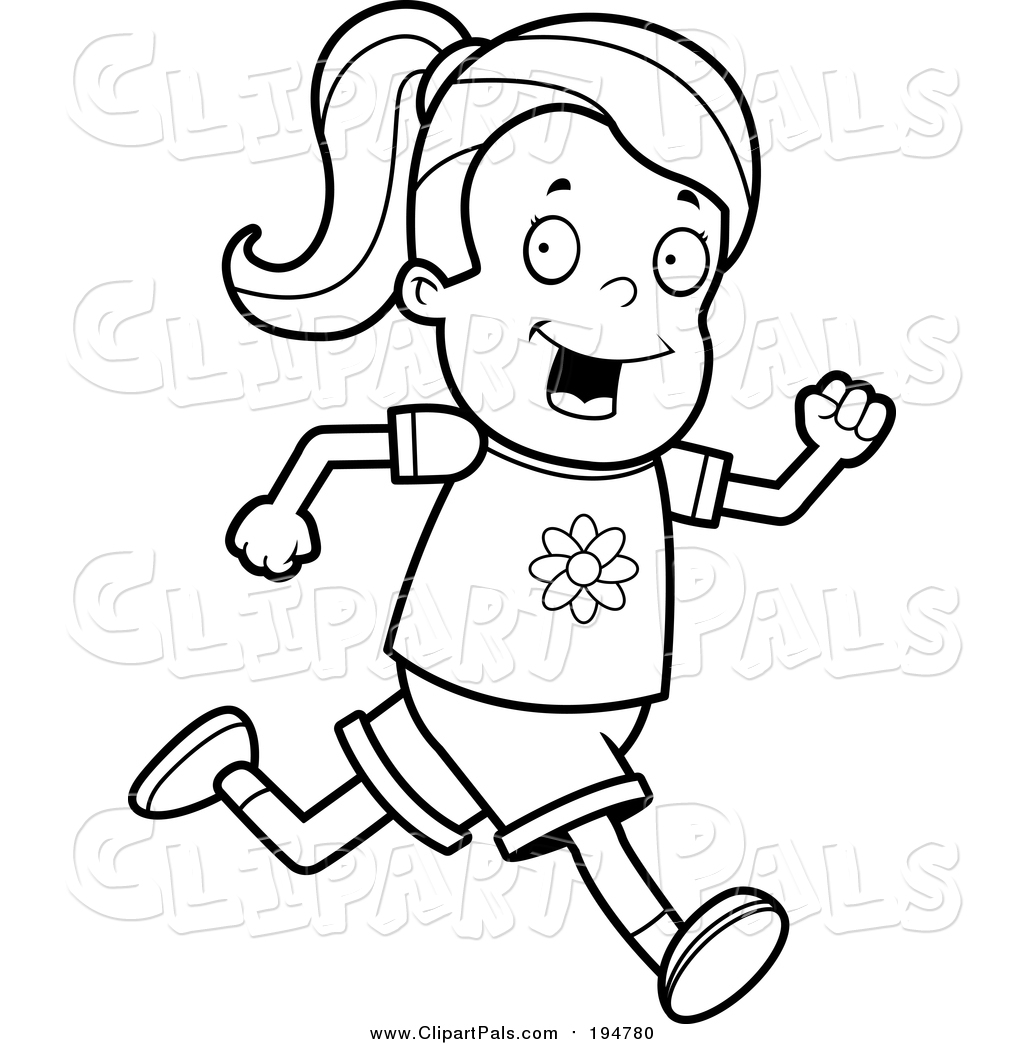 pal clipart of a lineart running girl by cory thoman 194780 lip clip art of ww2 war planes of ww2 w lip clip art free to use
