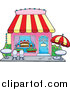 Pal Clipart of a Cake or Candy Shop by Visekart
